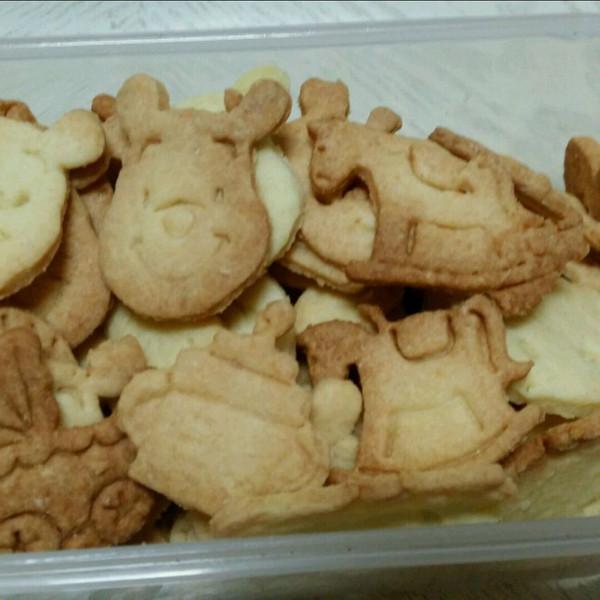 wo1234r做的动物曲奇饼干的做法