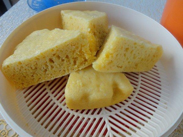 玉米面发糕的做法