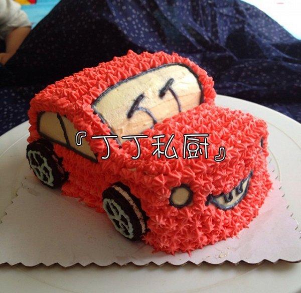 *丁丁*~~的可爱的小汽车生日蛋糕儿做法的学习成果