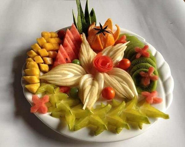 冰★做的水果拼盘【繁花似锦】的做法