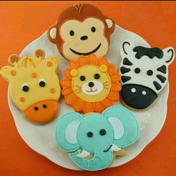 苏小尤-^做的动物饼干的做法