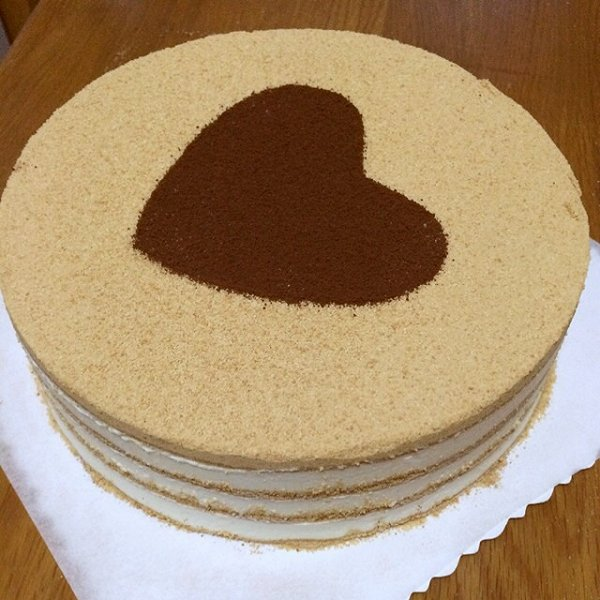 潇潇菲菲做的木糠蛋糕的做法