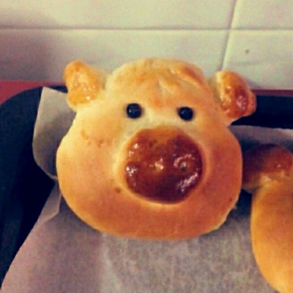 可爱的多多123做的六一礼物--小猪面包的做法_豆果美食