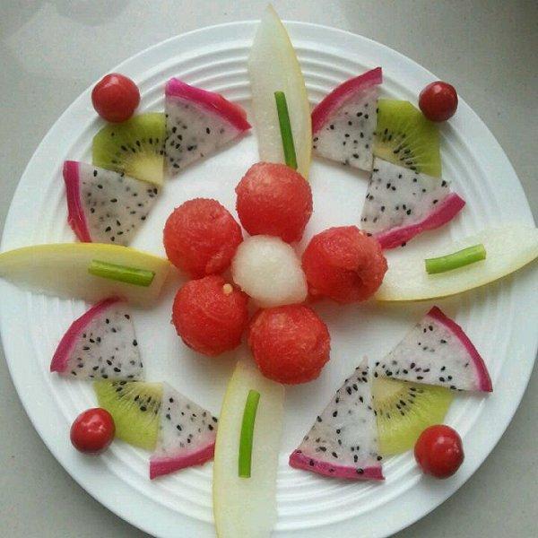 观海123的水果拼盘做法的学习成果照