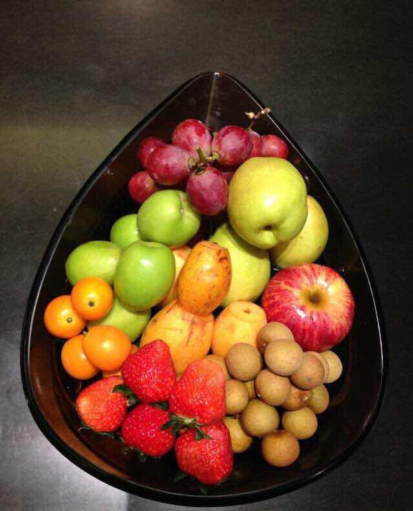 白玛1977做的水果盘的做法