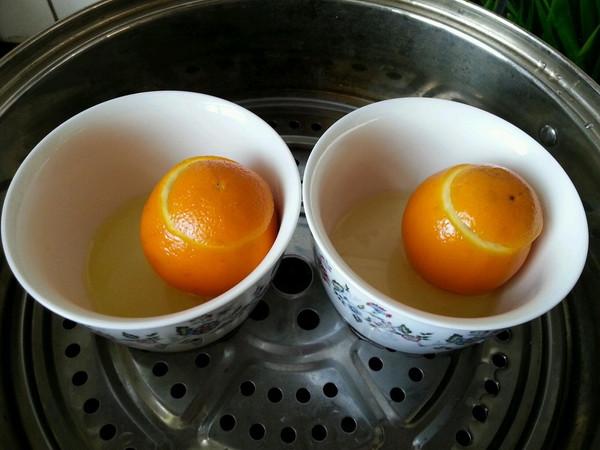 小蛮妈妈的盐蒸橙子做法的学习成果照