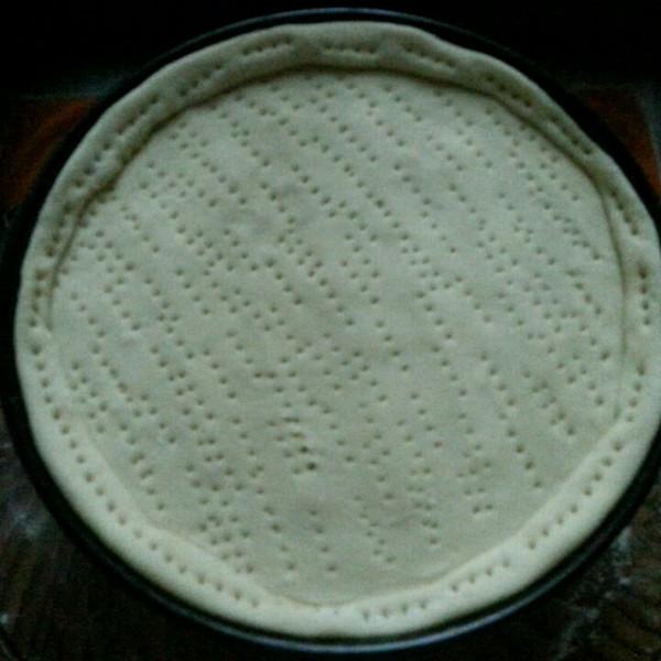 埃菲尔铁塔上的一丝明媚做的披萨饼皮的做法_豆果美食