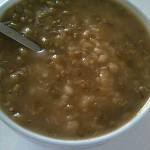 薏米绿豆汤的