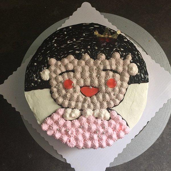 yc的樱桃小丸子蛋糕做法的学习成果照