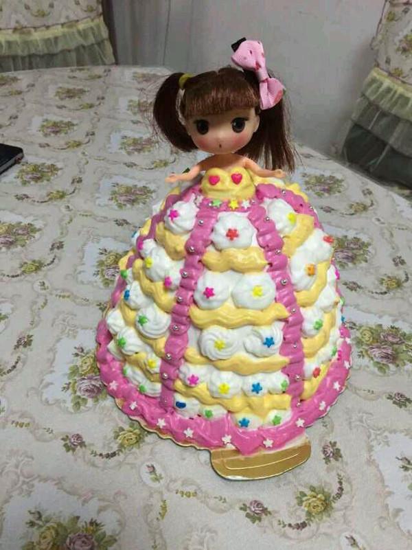 我爱我家165的娃娃蛋糕做法的学习成果照