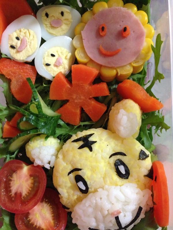 sun的好宝宝做的六一儿童节献给宝贝们的可爱便当的