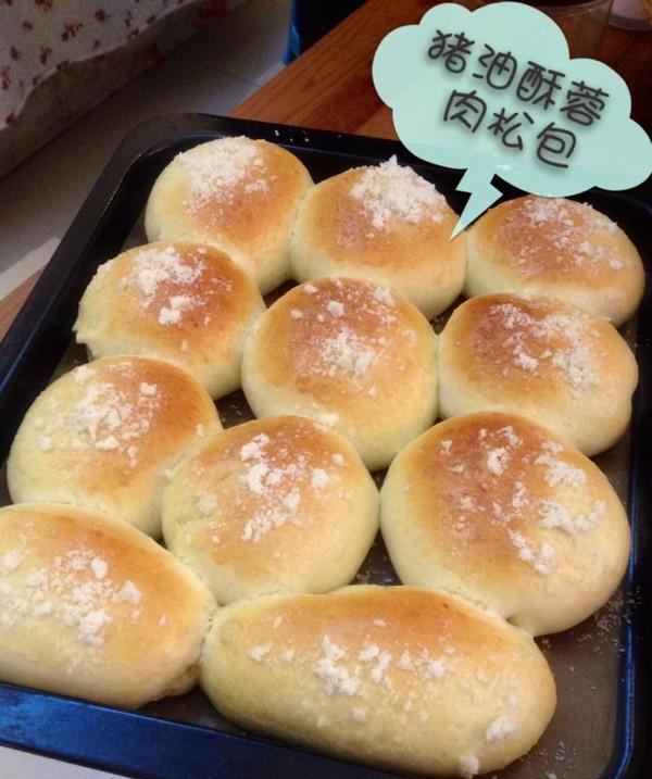 月舞凝香做的猪油雪花酥蓉面包的做法