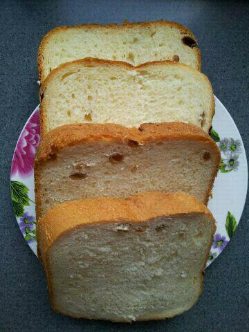 西湖龙井08做的面包机版全麦面包的做法