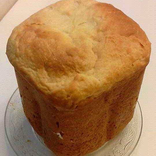 冰冰水love做的面包机松软面包的做法