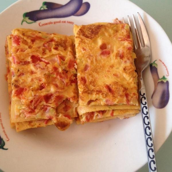 番茄饼简笔画