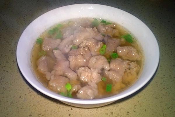 芊蔚2014做的温州鱼丸汤的做法
