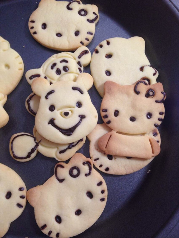 happy妺的萌萌哒小动物饼干做法的学习成果照