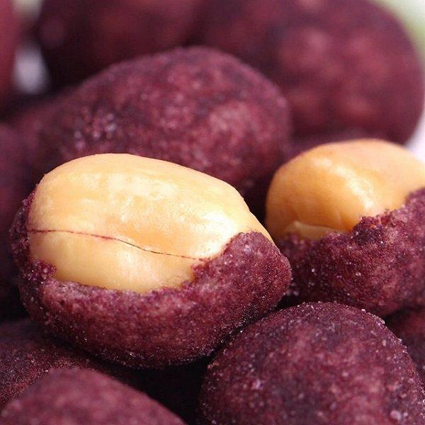 紫薯花生豆