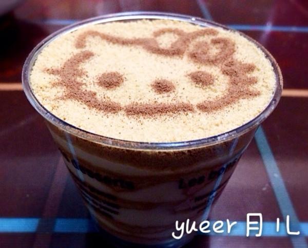 yueer月儿的kitty木糠杯做法的学习成果照