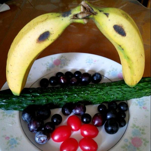 简单水果拼盘~水果的别样风情