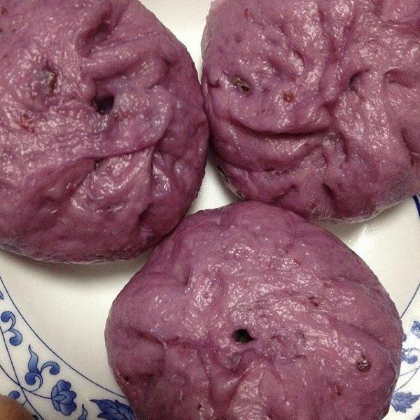 bootboot做的紫薯包子的做法