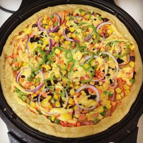 西音的电饼铛披萨的做法做法的学习成果照