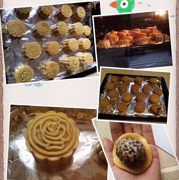 广式五仁月饼(超详细步骤图)