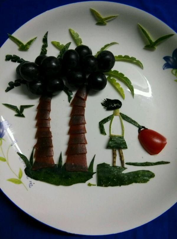 海岛风情水果拼盘