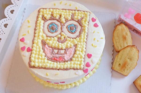 又一个生日蛋糕,送给小朋友的.可爱吧