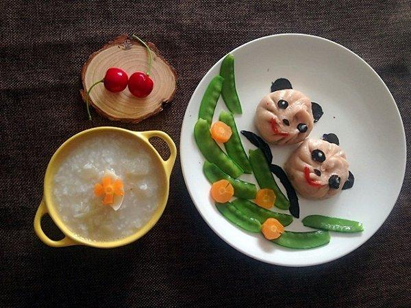铵哥baby的宝宝创意营养早餐做法的学习成果照图片