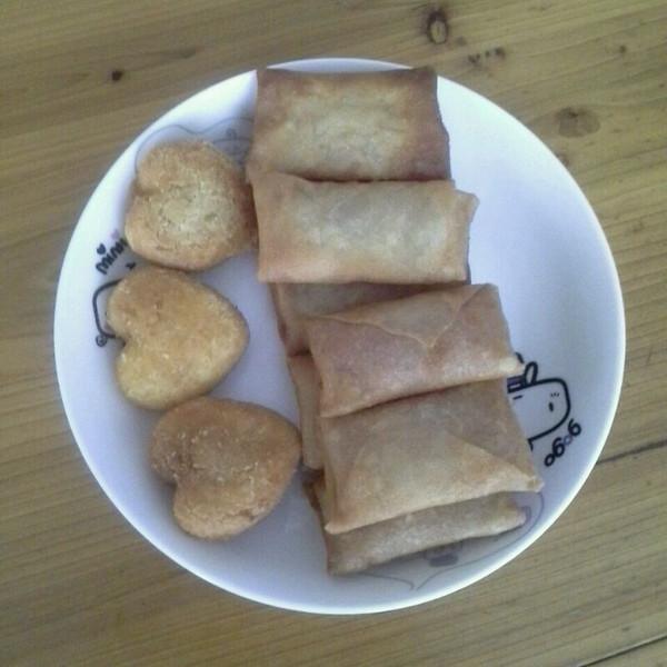 爱心早餐的做法图片