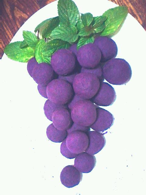 知心小猫做的奶香蜂蜜紫薯球的做法