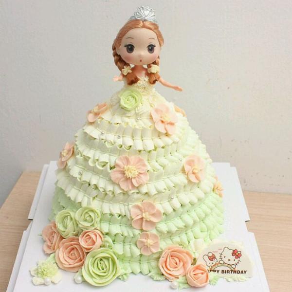 莲的娃娃蛋糕做法的学习成果照