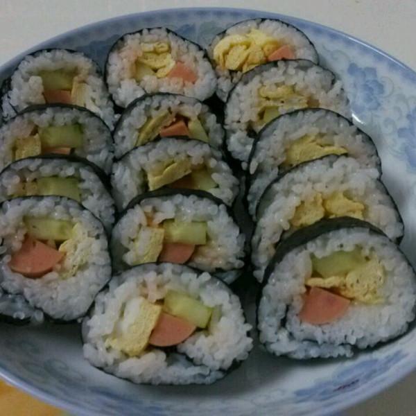 式寿司卷的做法