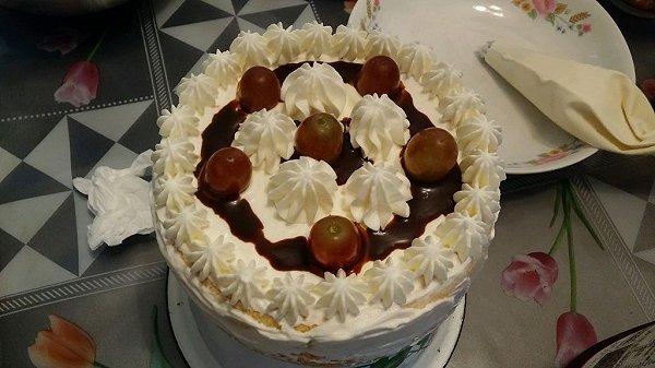 mickeywow做的生日蛋糕的做法