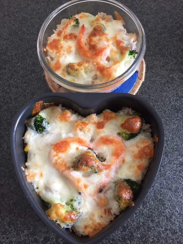 意大利海鲜焗饭