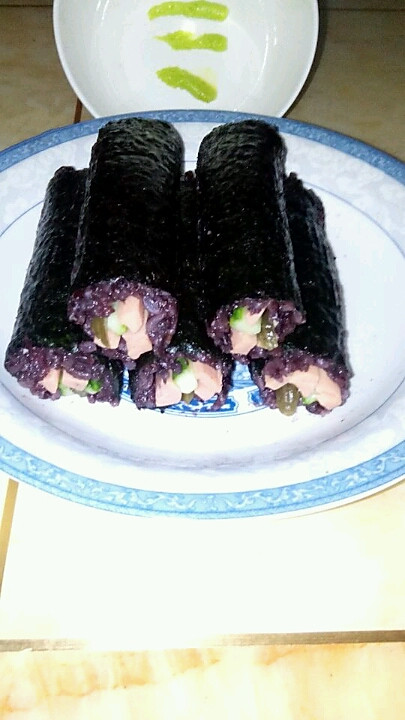 消逝的灬回忆做的寿司的做法
