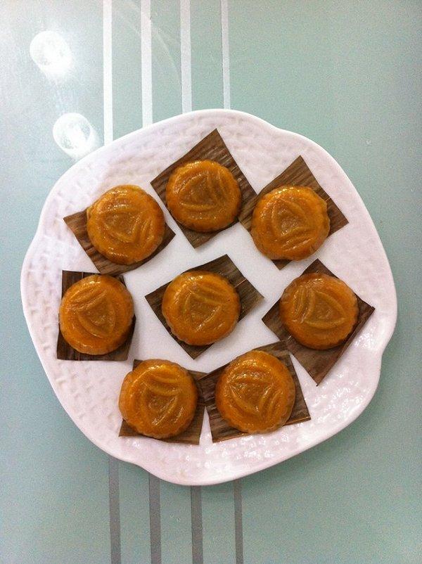 味南瓜饼的做法