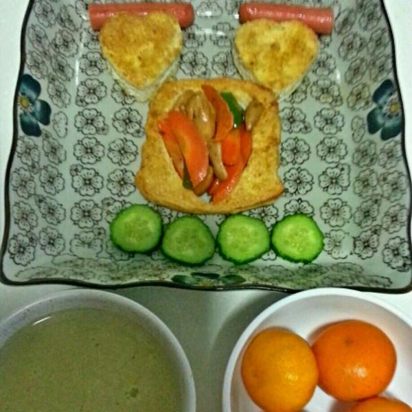 阳光森林营养早餐logo