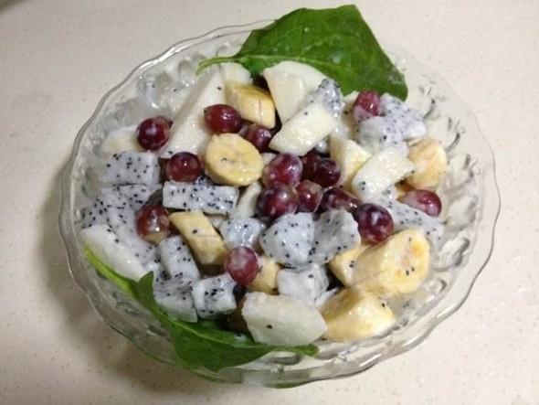 coco木子的帮小孩子开胃的水果沙拉——酸奶水果沙拉