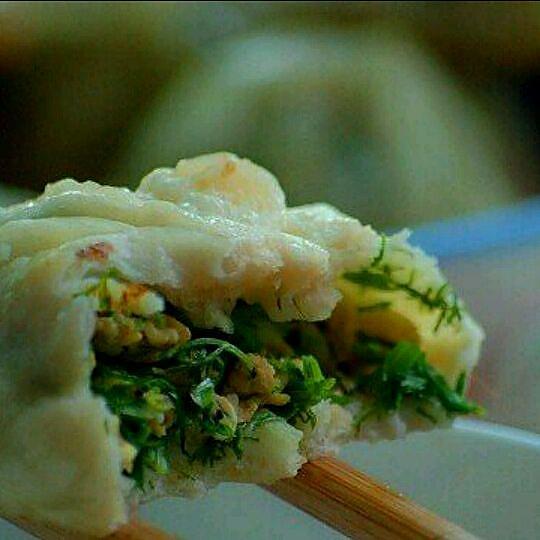 发面鲜虾小煎包