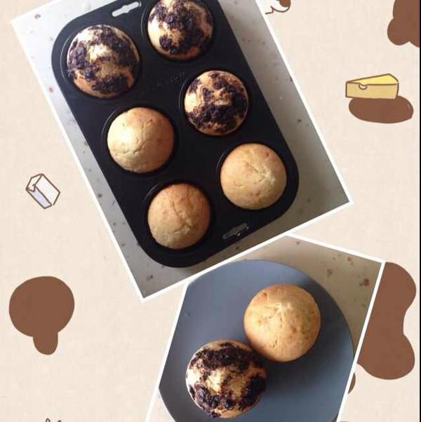 巧克力碎屑麦芬和香橙麦芬
