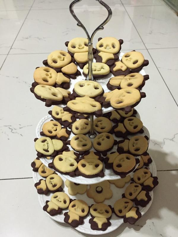 好可爱的小熊饼干,成功
