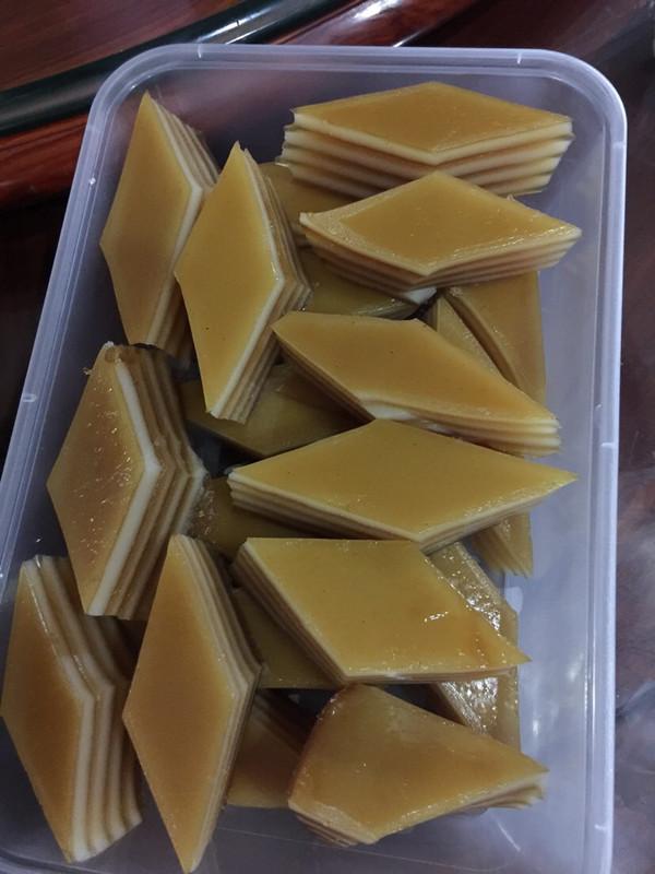 豆粉220651的椰汁千层马蹄糕做法的学习成果照