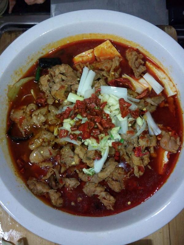 """""""水煮肉片""""(或""""水煮海鲜"""")的n种美味组合:四季水煮肉片"""