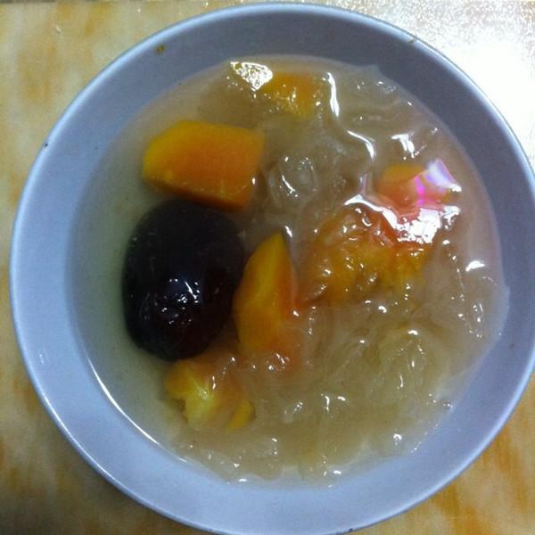 浅悠暄jx的木瓜银耳红枣汤做法的学习成果照