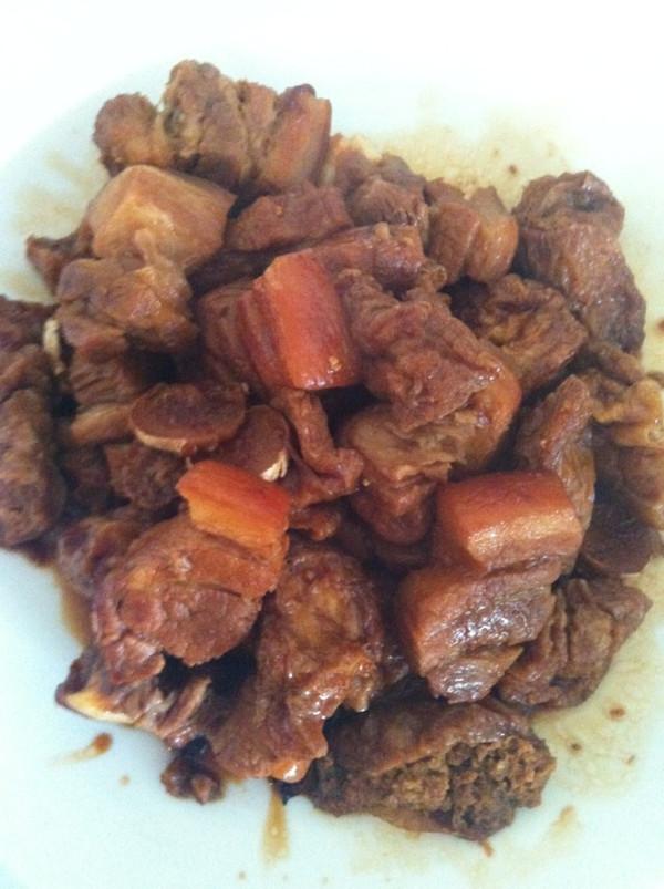 ヤTinaぜ 做的油豆腐烧肉的做法 豆果美食