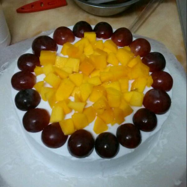 theresa123做的生日蛋糕的做法