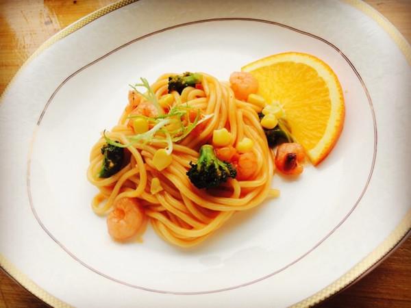 西式家常风味----海鲜意大利面的做法