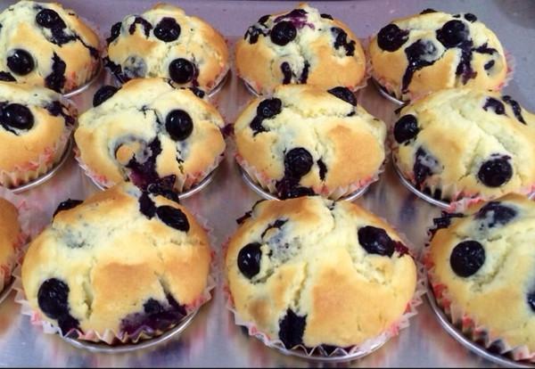 天使也疯狂7978做的蓝莓麦芬蛋糕的做法